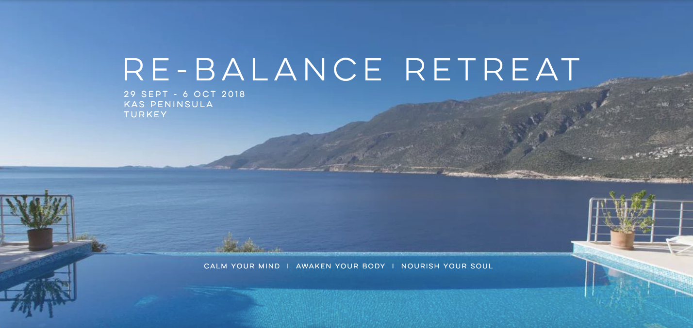 Re-balance Turkey Retreat